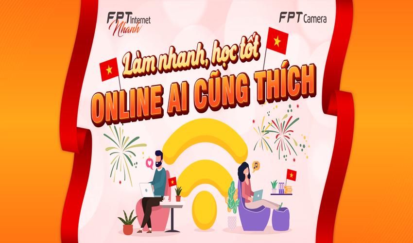 FPT Bến Tre khuyến mãi Hot lắp đặt internet và truyền hình tháng 10