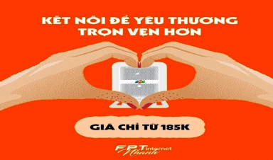 FPT Bến Tre khuyến mãi khách hàng lắp đặt combo tháng 3